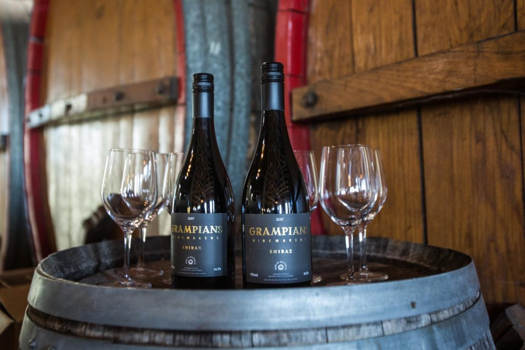 The Grampians Wine Barrique Shiraz will be offered for sale over the weekend